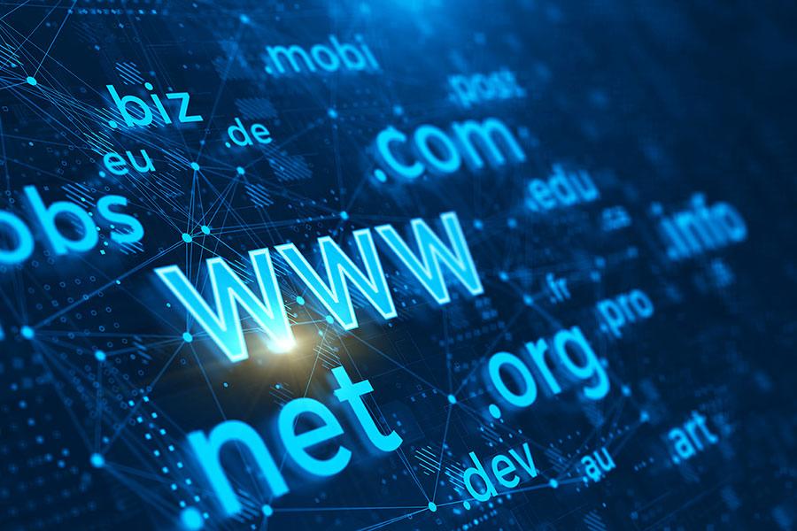 Website Domain Name Photo