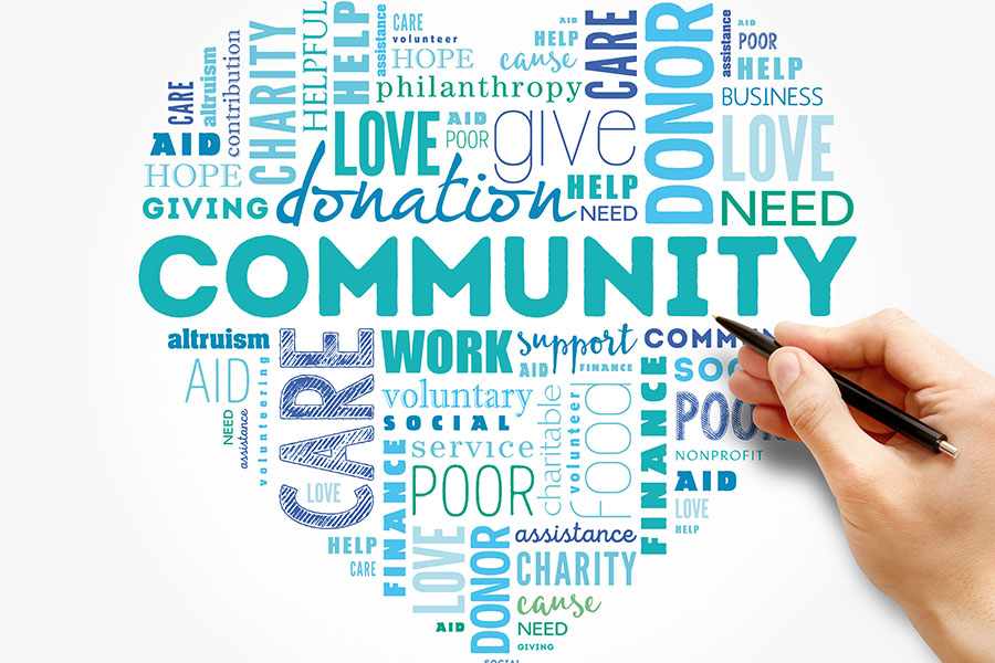 Websites for nonprofits, community groups & charities
